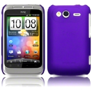 Hard Case HTC Wildfire S Frosted Purple