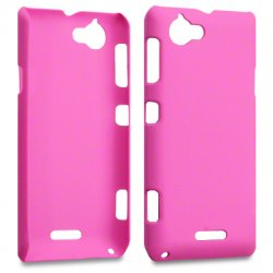 Hard Case Xperia L Solid Pink