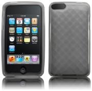 ipod Touch 2nd/3rd Gen Back Cover Silicrylic Grey