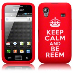Silikonskydd S5830 Galaxy ACE Keep Calm Red