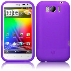 Silikonskydd HTC Sensation XL Purple