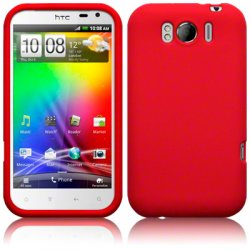 Silikonskydd HTC Sensation XL Red