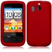 Silikonskydd HTC Smart Pure Red