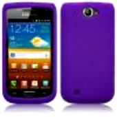 Silikonskydd i8150 Galaxy W Pure Purple
