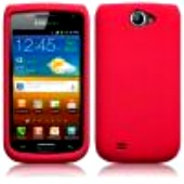 Silikonskydd i8150 Galaxy W Pure Red