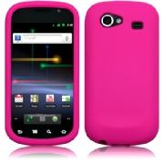 Silikonskydd Google Nexus S Hot Pink