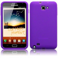Silikonskydd Galaxy Note Purple