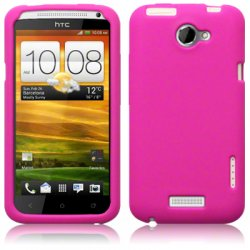 Silikonskydd HTC One X Hot Pink