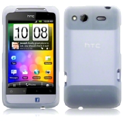 Silikonskydd HTC Salsa Frosted White
