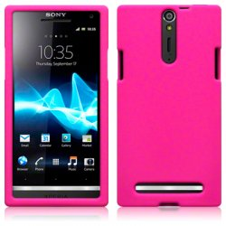 Silikonskydd Xperia S Pink