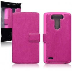 Mobilväska LG G3s Leather Pink Slim