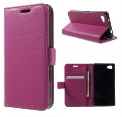 Mobilväska Xperia Z5 Compact Pink w/Stand