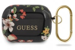 GUESS Airpods PRO Skal - Flowers Black