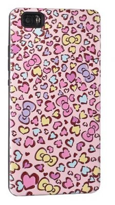 Mobilskal iPhone 7 / iPhone 8 Hearts 3D Pink