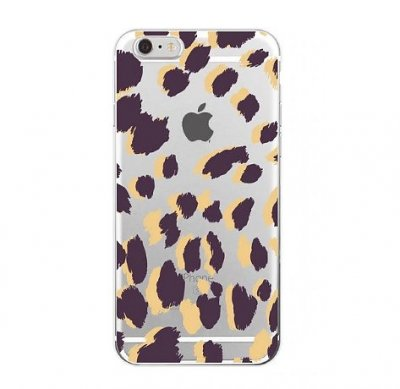 Mobilskal iPhone 7/8 Purple Leopard