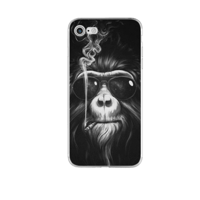 Mobilskal iPhone 7/8 Smoking Monkey