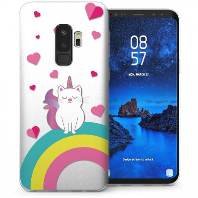 Mobilskal Samsung Galaxy S9 PLUS Unicorn Cat