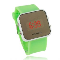 Armbandsur Green LED Watch