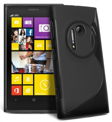 Back Cover Lumia 1020 Style Black