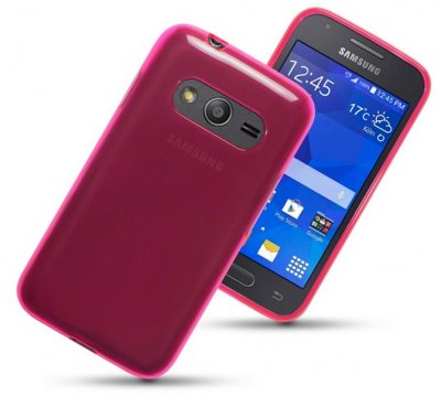 Back Cover Galaxy Trend 2 Hot Pink