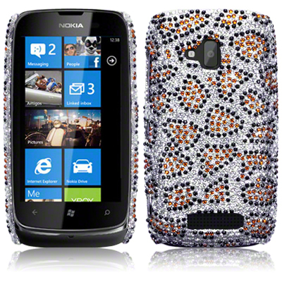 Back Cover Lumia 610 Diamond Lepard