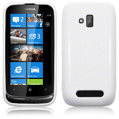 Back Cover Lumia 610 Solid White