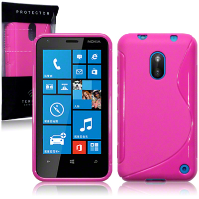 Back Cover Lumia 620 Style Pink