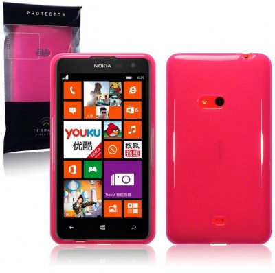 Back Cover Lumia 625 Hot Pink