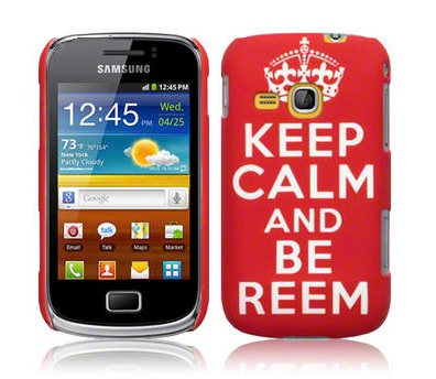 Hard Case Galaxy Mini 2 Keep Calm Red