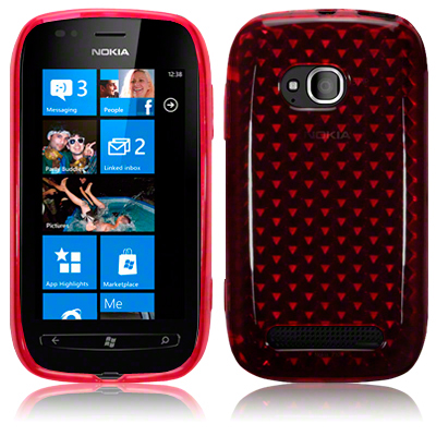 Back Cover Lumia 710 Red