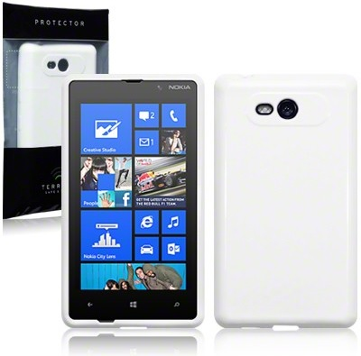 Back Cover Lumia 820 Solid White
