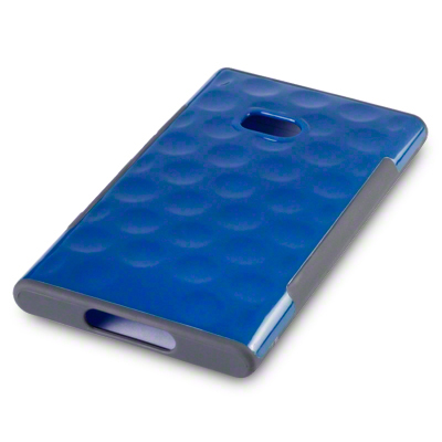 Back Cover Lumia 900 Side Grip Blue