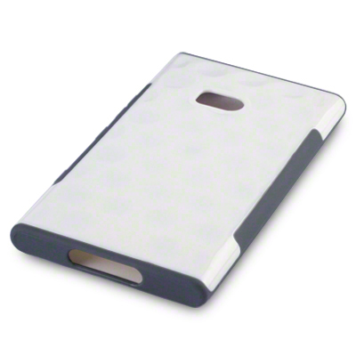 Back Cover Lumia 900 Side Grip White