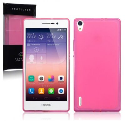 Back Cover Ascend P7 Hot Pink