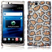 Back Cover Xperia Arc Diamond Lepard