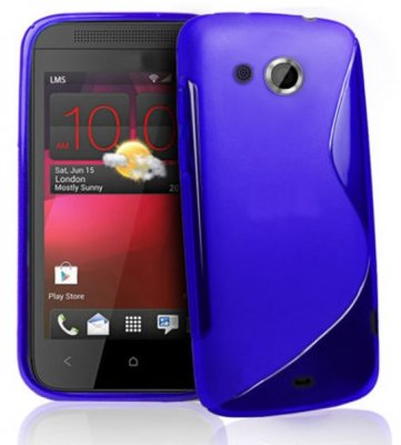 Back Cover HTC Desire 200 Style Blue