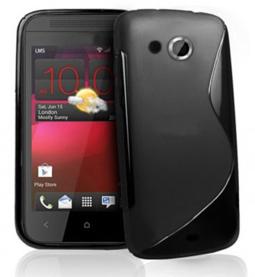 Back Cover HTC Desire 200 Style Black