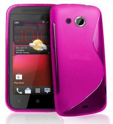 Back Cover HTC Desire 200 Style Pink