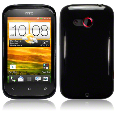 Back Cover HTC Desire C Solid Black