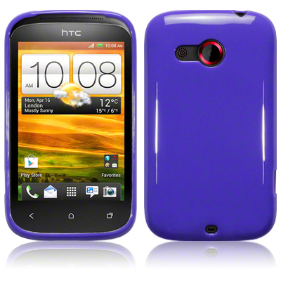 Back Cover HTC Desire C Solid Purple