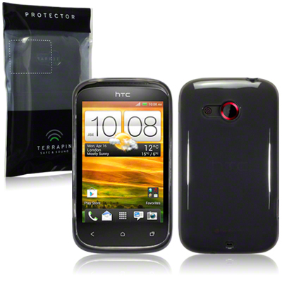 Back Cover HTC Desire C Smoke Black