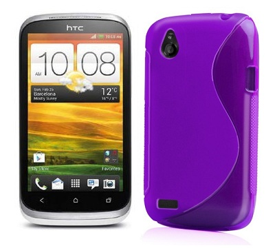 Back Cover HTC Desire X Style Purple