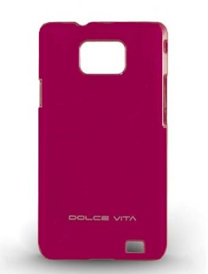 Back Cover i9100 Galaxy S2 Shiny Pink