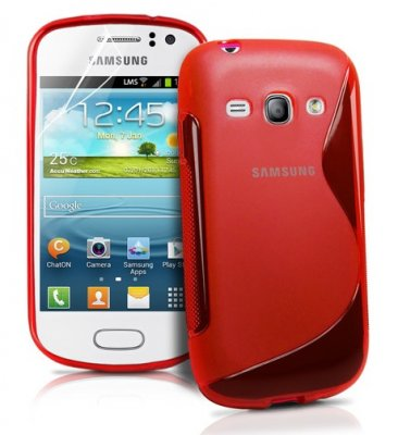 Back Cover Galaxy Fame Style Red