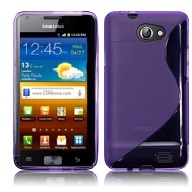 Back Cover i9103 Galaxy Z Style Purple
