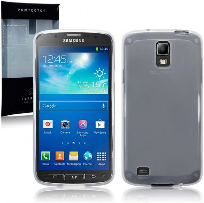 Back Cover i9295 Galaxy S4 Active Frosted White