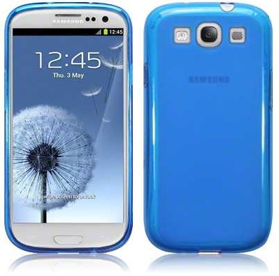 Back Cover i9300 Galaxy S3 Blue
