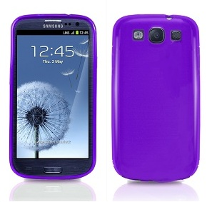 Back Cover i9300 Galaxy S3 Solid Purple