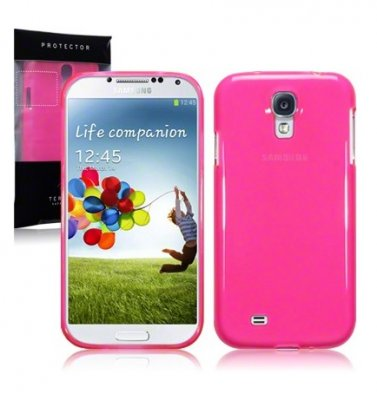 Back Cover i9500 Galaxy S4 Hot Pink