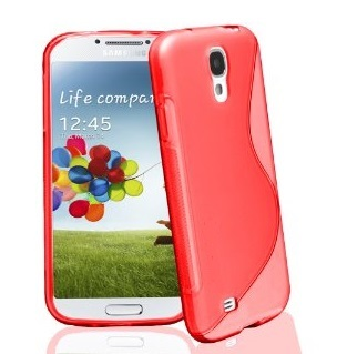 Back Cover i9500 Galaxy S4 Style Pink